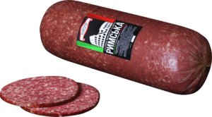 European Salami with Pork and Beef